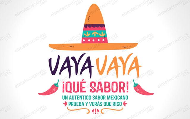 Baixe Colecao Logos Comida Mexicana Com Esboco Gratuitamente